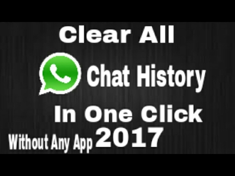 How to read clear chat on whatsapp