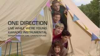One Direction - Live While We're Young (Karaoke Instrumental) NO BACKING VOCALS