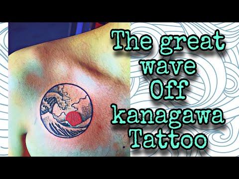The Great Wave Off Kanagawa Tattoo Youtube