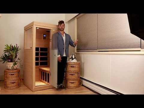 Smallest most therapeutic Infrared Sauna Reviewed