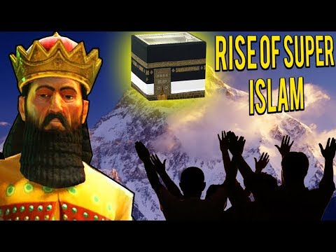 Civilization 5 Multiplayer - Rise of Super Islam! Persian Vibes 🕋