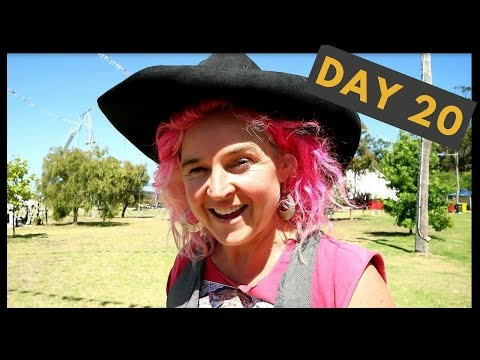 Life at the Circus - Day 20 - Juggling on a merry-go-round - what could possibly go wrong?