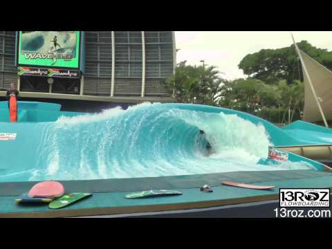 Wave House Commerical Shoot Double Barrel Durban