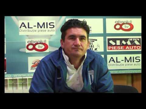 Ovidiu Stanga, declaratii dupa CS Mioveni - Universitatea Craiova 0-1