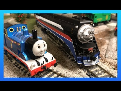 Southern Pacific 4449 American Freedom Train - 2018 Atlanta Model Train Show