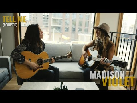 Madison Violet - Tell Me (live, acoustic) Mp3