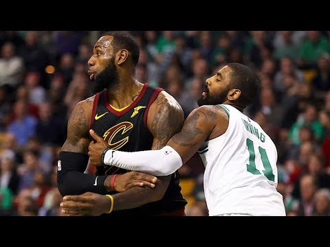 Kyrie Irving vs LeBron James Part 2! Cavs vs Celtics 2017-18 Season