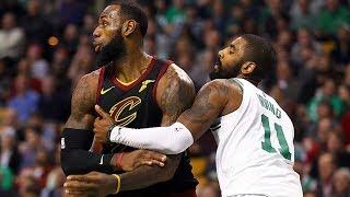 Kyrie Irving vs LeBron James Part 2! Cavs vs Celtics 2017-18 Season