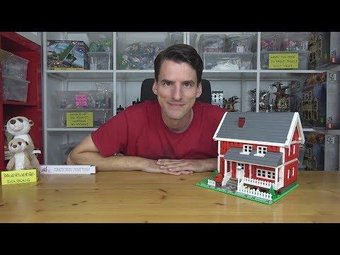LEGO® Creator MOC - Schwedenhaus mit Terrasse