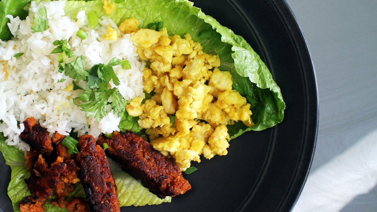 Astig Vegan's Filipino Breakfast Plate Longsilog | Review by Mary's Test Kitchen