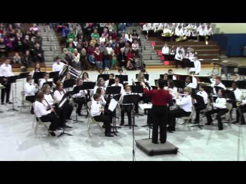 North Jefferson Middle School Christmas Concert Part 5