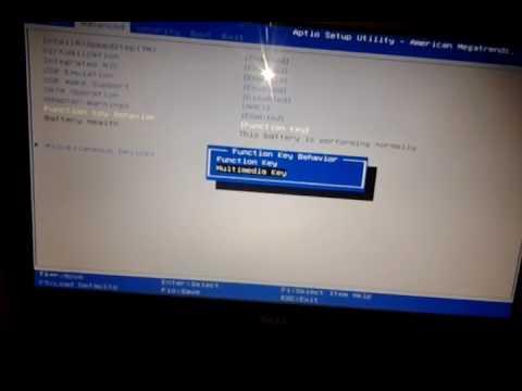 Khắc phục lỗi nút FN trên Laptop không sử dụng được