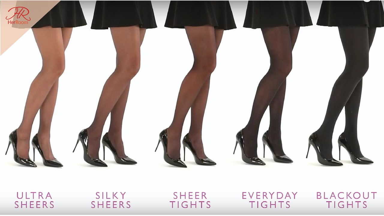 Where logic? Latina high heels and stockings agree with