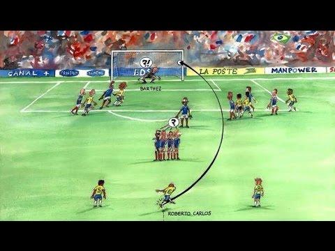 Roberto Cаrlos Free Kick vs France
