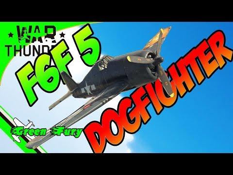 F6F 5 - HELLCAT - ITS A DOG FIGHTER  Vs Germans AKA GERMAN RIPPER - War Thunder Reviews