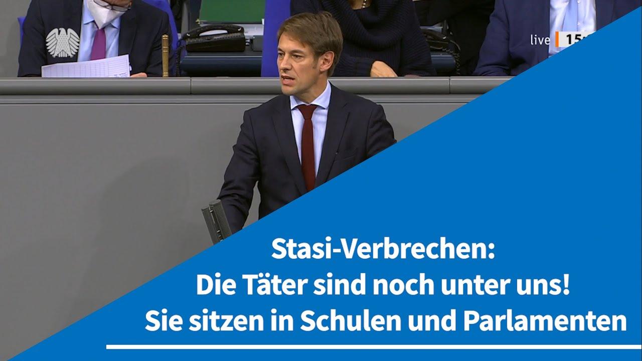 30.10.2020 Stasi-Verbrechen: Die Täter sind noch unter uns! Sie sitzen in Schulen und Parlamenten