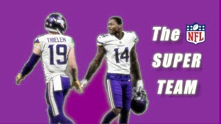 Stefon Diggs and Adam Thielen: The Premier NFL Wide Receiver Superteam