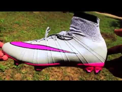 purchase cheap d6176 445ae Nike Mercurial Superfly Wolf Grey/Hyper Pink- Unboxing