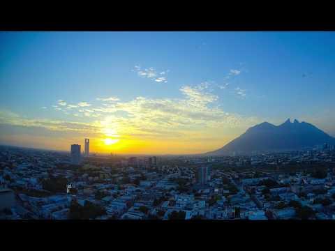 Time Lapse Amanecer en el Cerro de la Silla Monterrey Nuevo León - Sony HDR-AS300 FULL HD