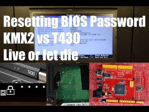 Resetting the BIOS password on Lenovo laptop | FunnyCat TV