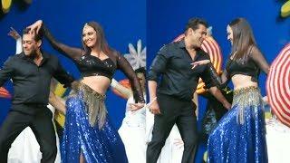 Salman Khan and Sonakshi Sinha Dancing on ## Tere Mast Mast Do Nain ##