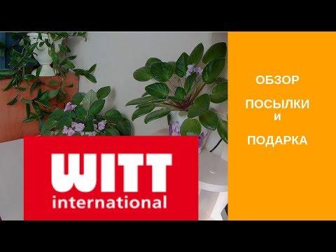 Получила ПОСЫЛКУ от WITT International
