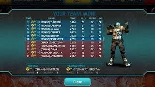 !NSANE vs. Dhaka-  Clan War (matches 4-5) :Shadowgun Deadzone