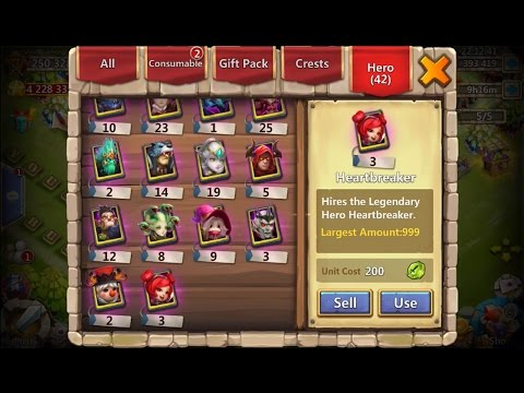 JT's Main Going For 3rd HeartBreaker To Double Evolve Castle Clash