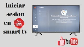 Iniciar sesion youtube smart tv