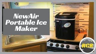 NewAir AI-100S 28- Pound Portable Ice Maker