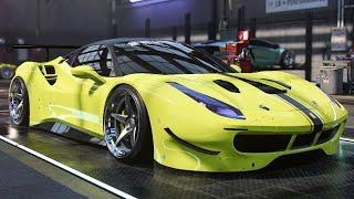Need For Speed Heat Customization Ferrari 488 GTB 1157Hp 3.9l v8 Top Speed 390Kmh