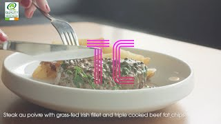 Recipe - Steak au Poivre with triple cooked beef fat chips