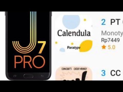 Cara Mudah Ganti Dan Unduh Font Berbayar Secara Gratis Di Hp Samsung Youtube