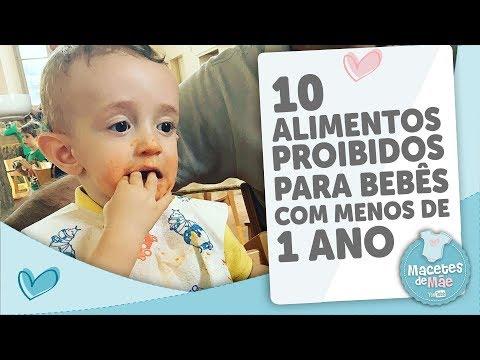 Dieta para bebe de 1 ano e 8 meses