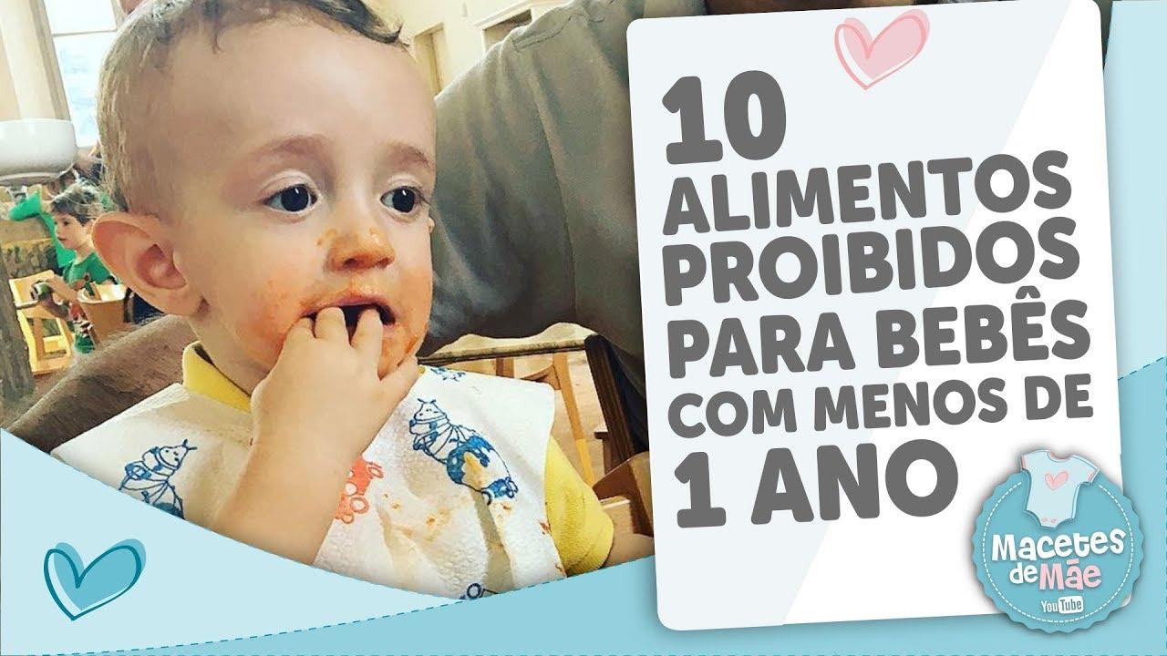Como podo alimentar o meu bebé en 10 meses