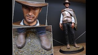 Custom Painted 1/4 Scale Statue - Man With No Name (Clint Eastwood)