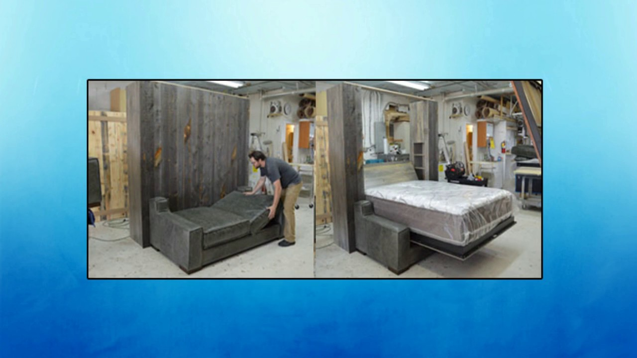 3 of the best king size murphy bed systems youtube. Black Bedroom Furniture Sets. Home Design Ideas