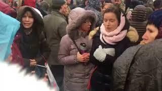 "На акции ""Кофе на Крещатике"" начали петь песни    Страна.ua"
