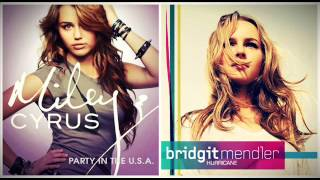 Bridgit Mendler vs. Miley Cyrus - Party In The Hurricane (Mashup)