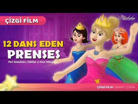 12 Dans Eden Prenses çizgi film masal 22 | Adisebaba Çizgi Film Masallar