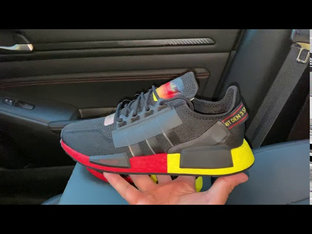 Adidas NMD R1 V2 United By Sneakers Munich shoes - YouTube