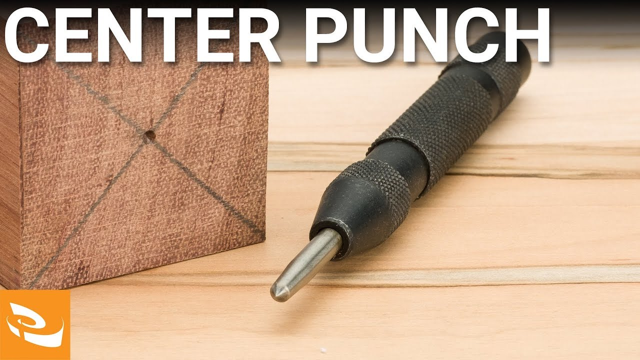 Spring-loaded Center Punch | Woodturning - YouTube
