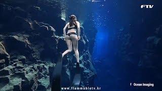 아이슬랜드에 가야할 이유: 세계에서 가장 맑은 물에서 스쿠버 다이빙