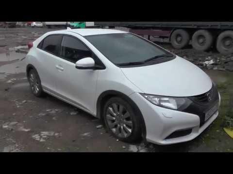 Спойлер Хонда Цивик 4Д. Спойлер на багажник Honda Civic 4D. AOM .