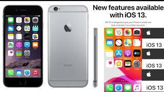 İPhone 6 İOS 13 güncellemesini neden almadı?