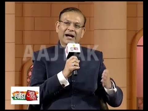 MoS for Civil Aviation Jayant Sinha discussing the future of the growing Indian economy
