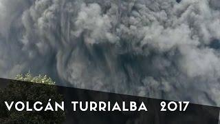 Volcán Turrialba con mucha actividad para este verano 2017