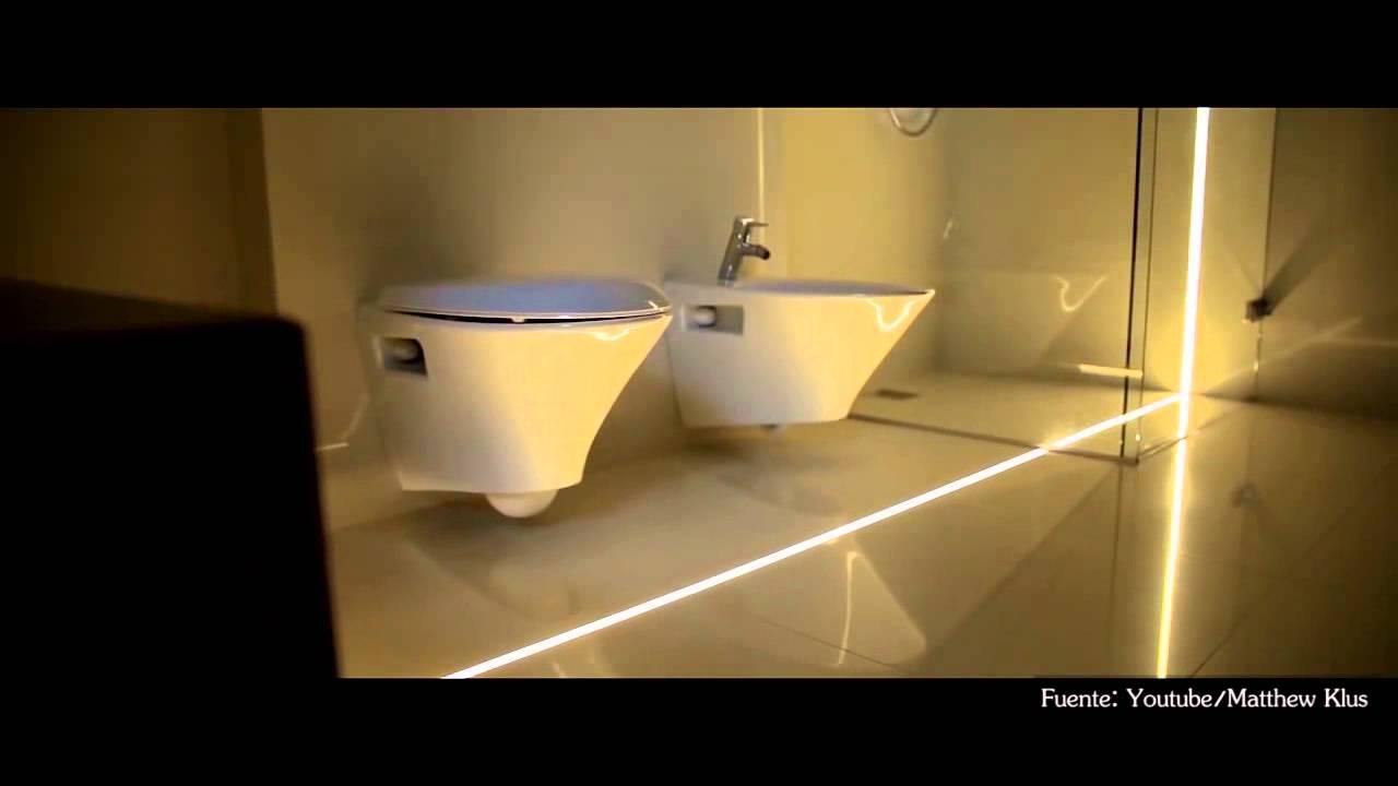Cómo iluminar tu baño usando luces LED? - YouTube