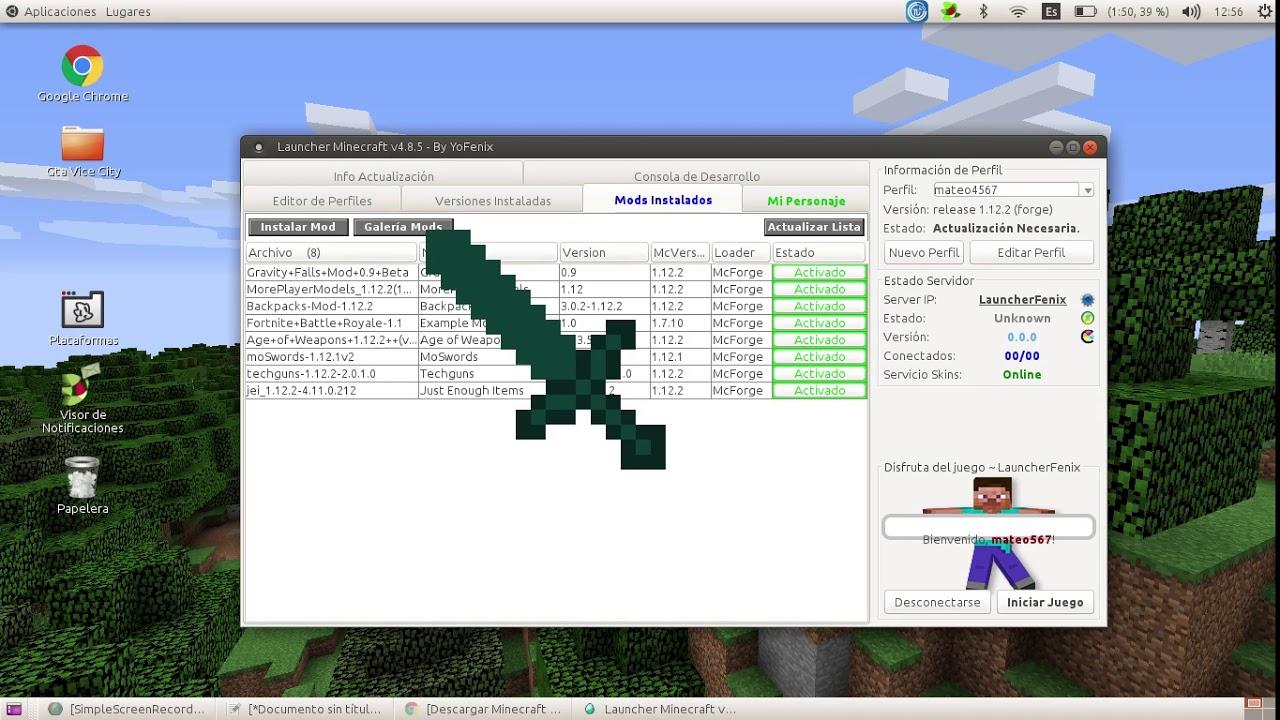 como descargar mods para minecraft 1 12 2