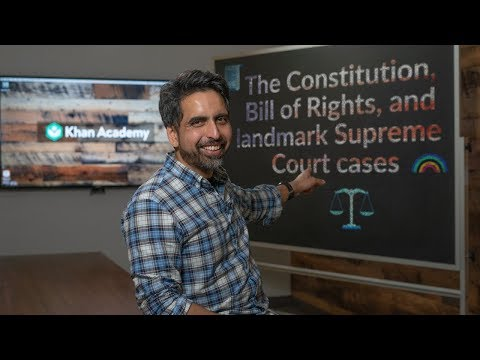 The Constitution, Bill Of Rights, And Landmark Supreme Court Cases - Course Trailer